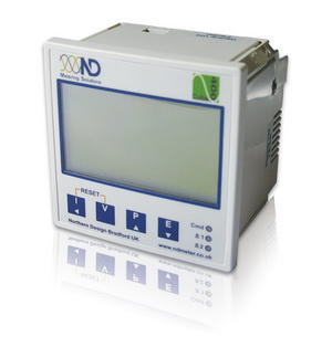 Multifunction metering with local selectable display and wide range of energy monitoring function